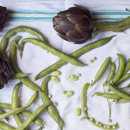 Vignarola (Roman Spring Vegetable Braise)