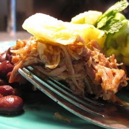 Caribbean Roast Pork with Pineapple Lime Salsa