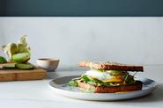 Monster Avocado Toast Sandwich