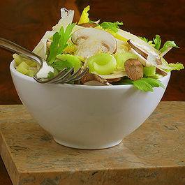 Italian Mushroom and Celery Heart Salad