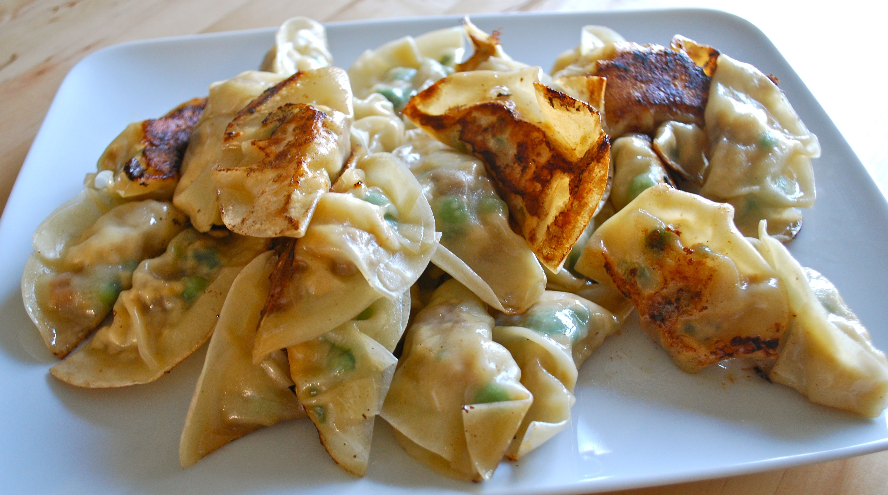 sweet potato and apple potstickers baked sweet potato potstickers ...