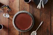 Cinnamon Chocolate Tart with a Pecan Crust