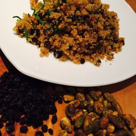 Quinoa_with_pistachios__currants__red_onion___mint