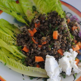 Lentil Salad with Goat Cheese