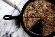 Brown Butter Nutella Skillet Cookie
