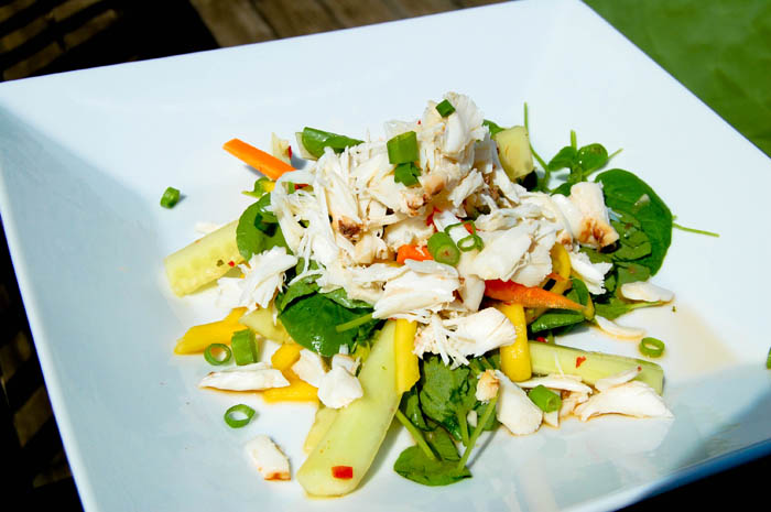 Thai Crab and Mango Salad