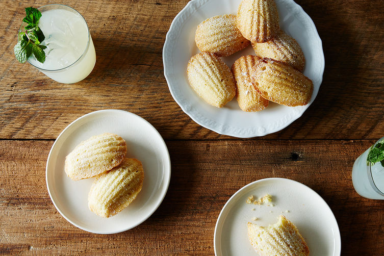 ... madeleines, the buttery, light, and slightly sweet French classic