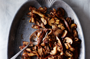 Stuart Brioza's Mushrooms in Pickle-Brine Butter