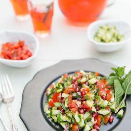 Bejewelled Kachumber Salad