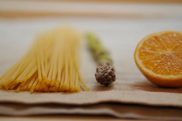 Lemony Pasta with Asparagus