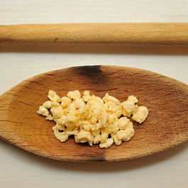 Egg Barley Stracciatella