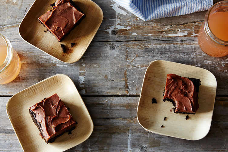 Chocolate Fudge Sheet Cake Recipe on Food52