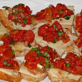Chicken Bruschetta