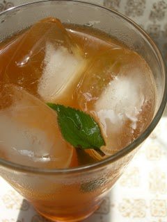 Minty Iced Tea