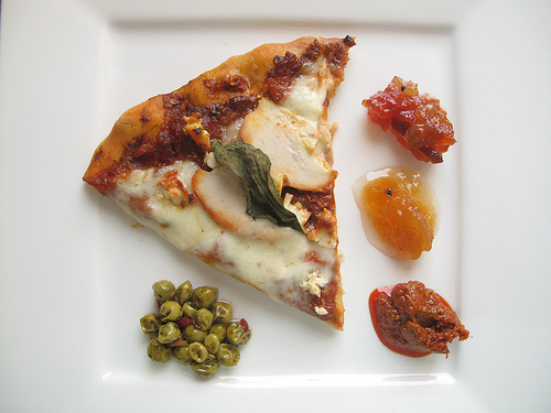 Roasted Patiala Chicken Pizza