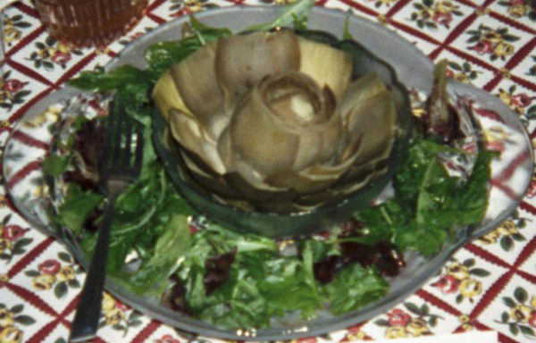 Artichokes in Lemon Sauce