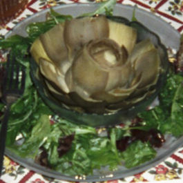 Artichokes in Lemon Sauce