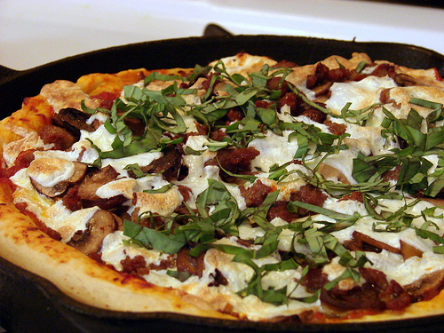 Iron Skillet Pizza