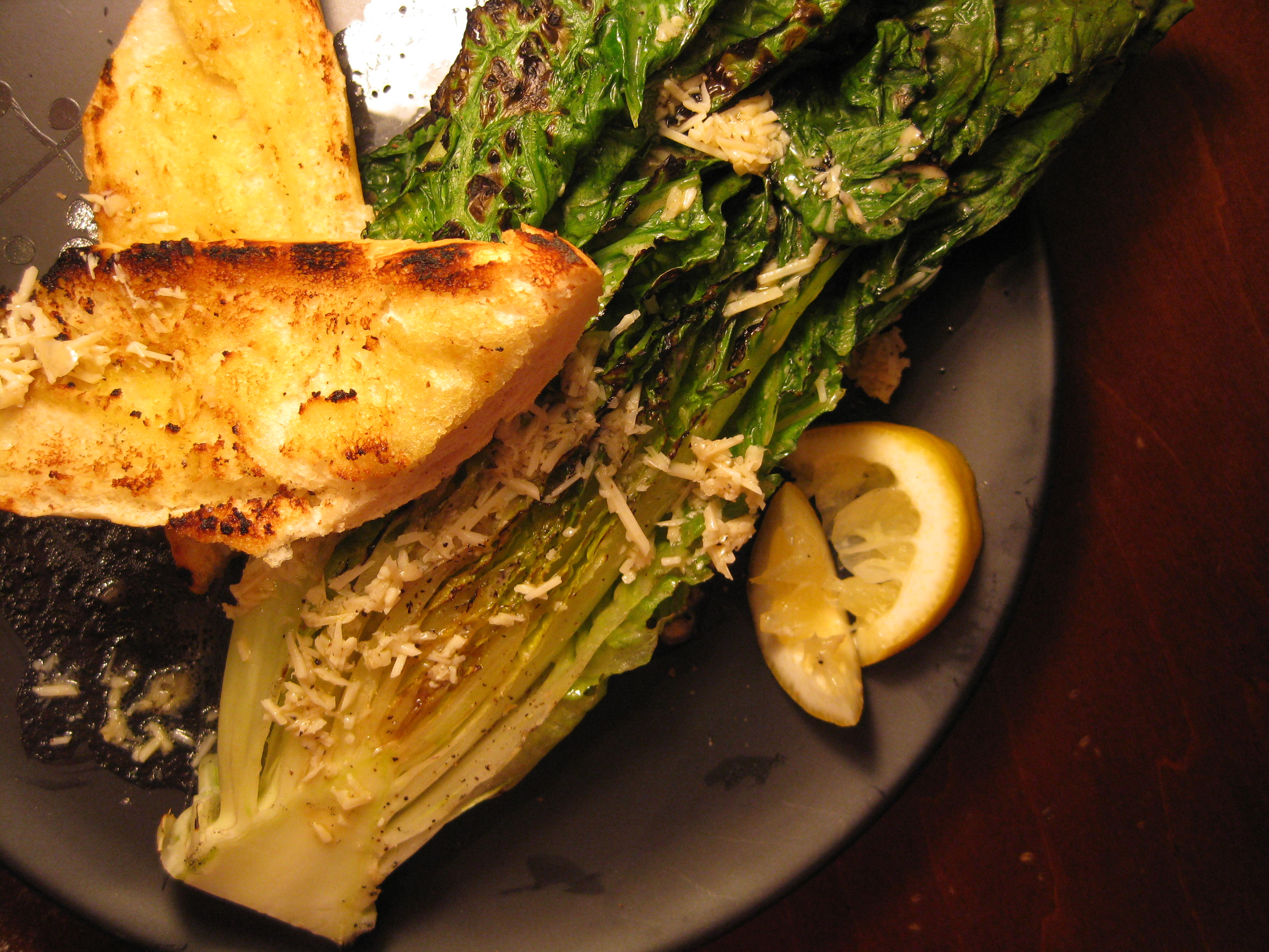 Fully Grilled Caesar Salad Recipe on Food52
