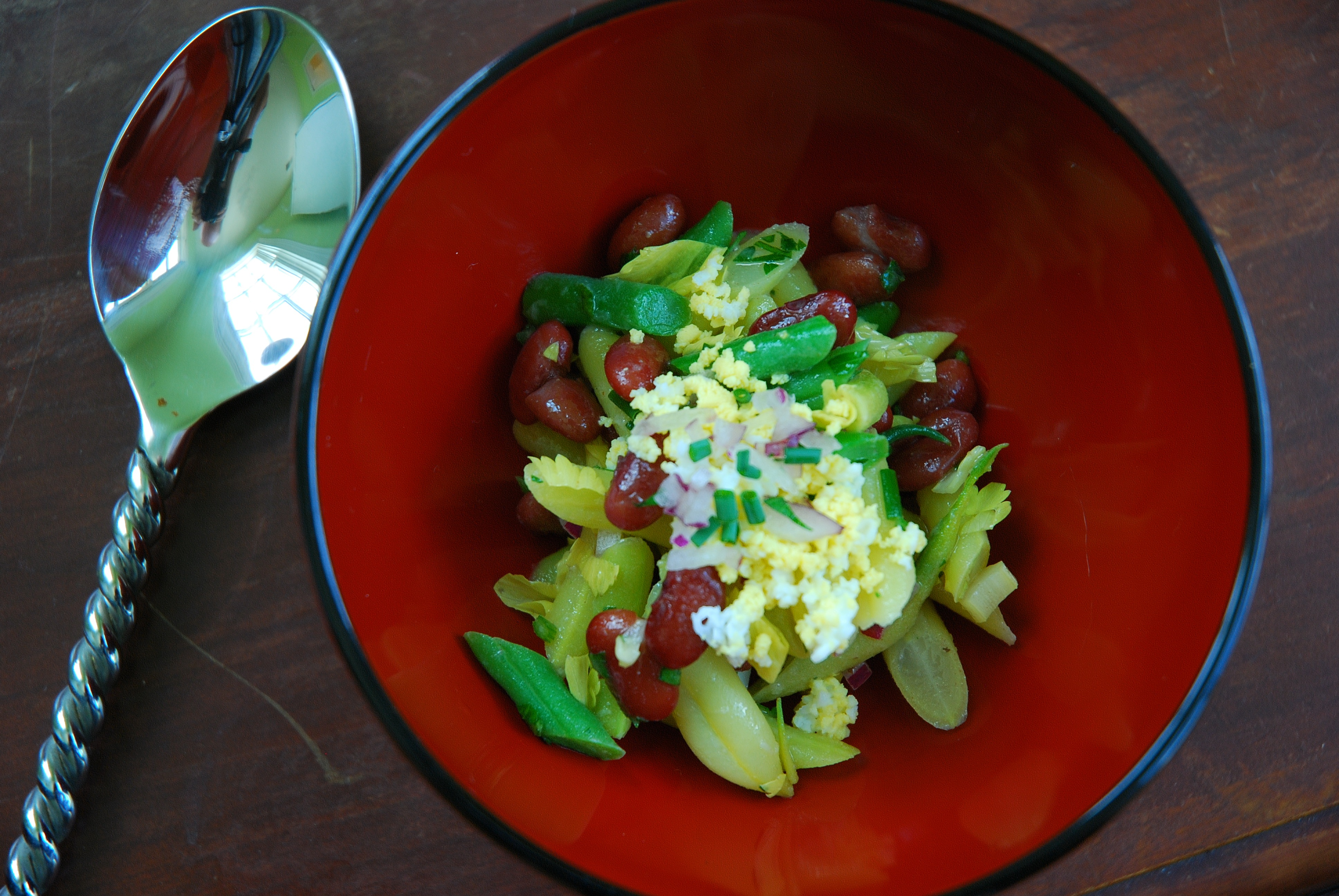 Three Bean Salad the Bonafide Farm Way