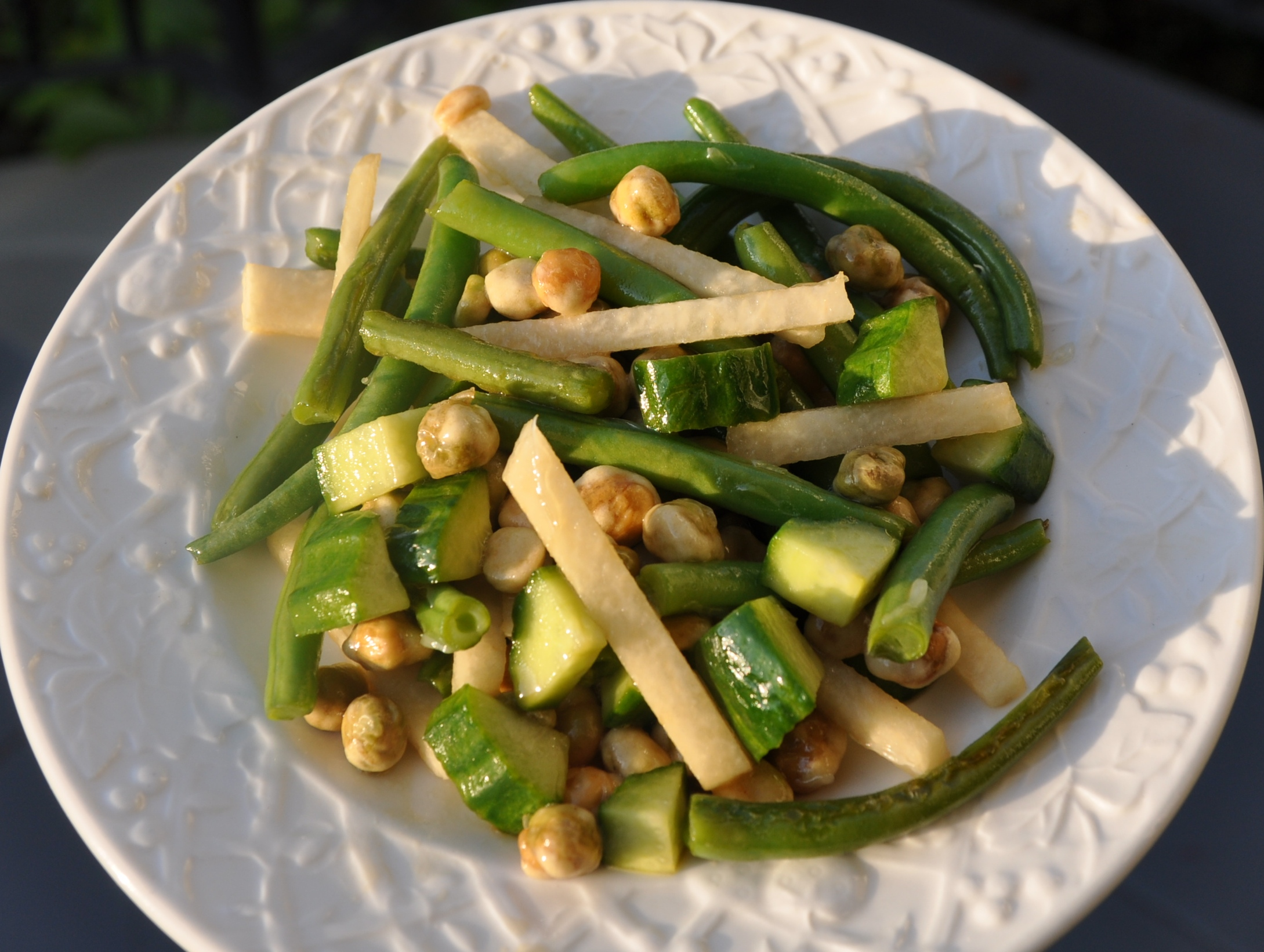Crunchy Green Bean Salad