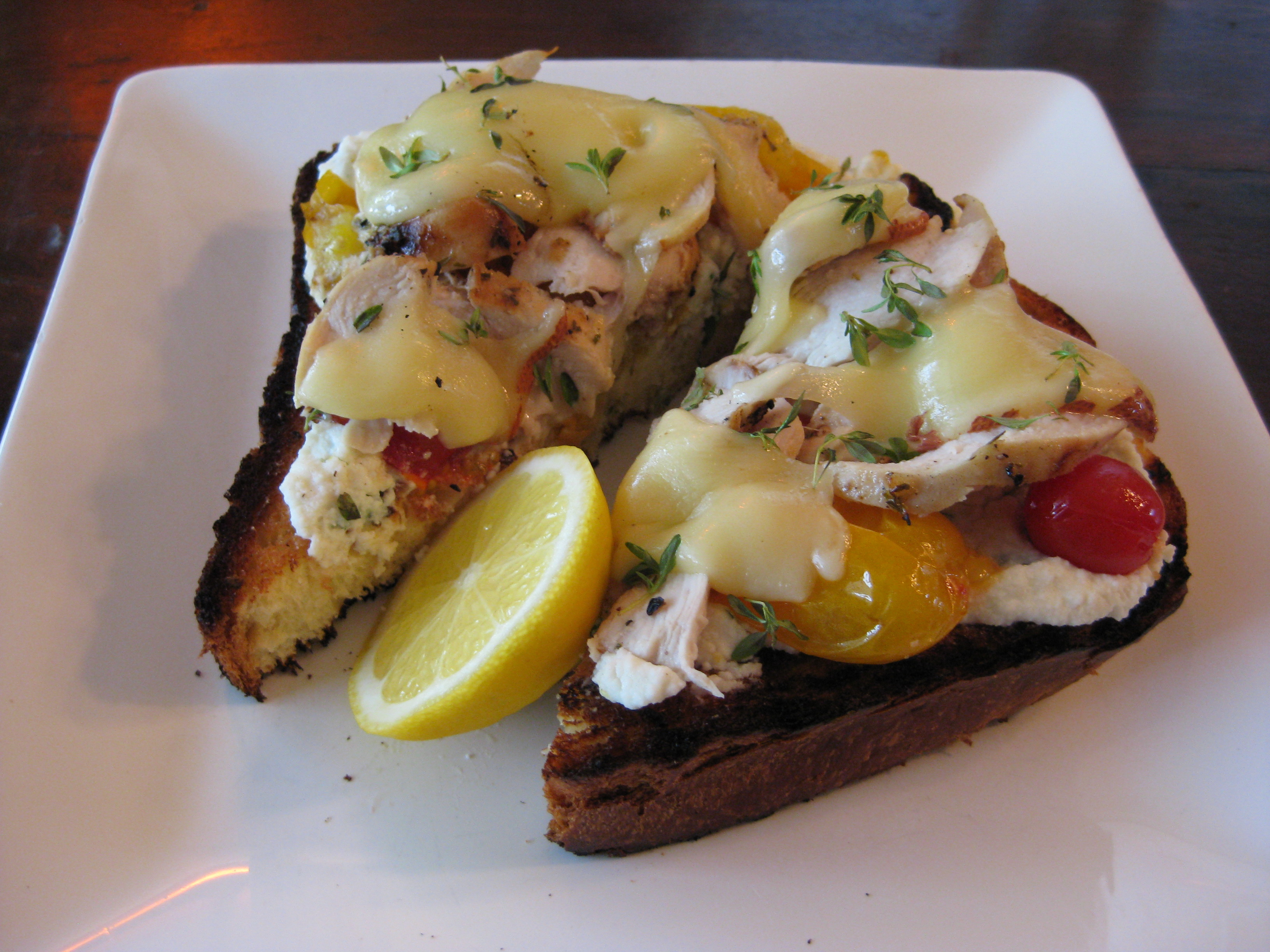 Grilled Bruschetta
