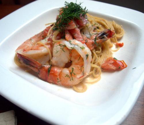 Shrimp In Sambuca Cream Sauce Recipe On Food52