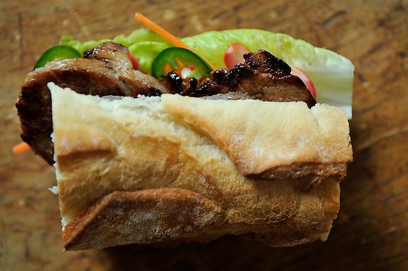 Caramelized Pork Bahn Mi on Food52