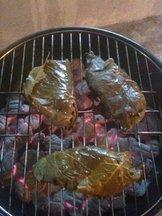 Grilling_fish_parcels