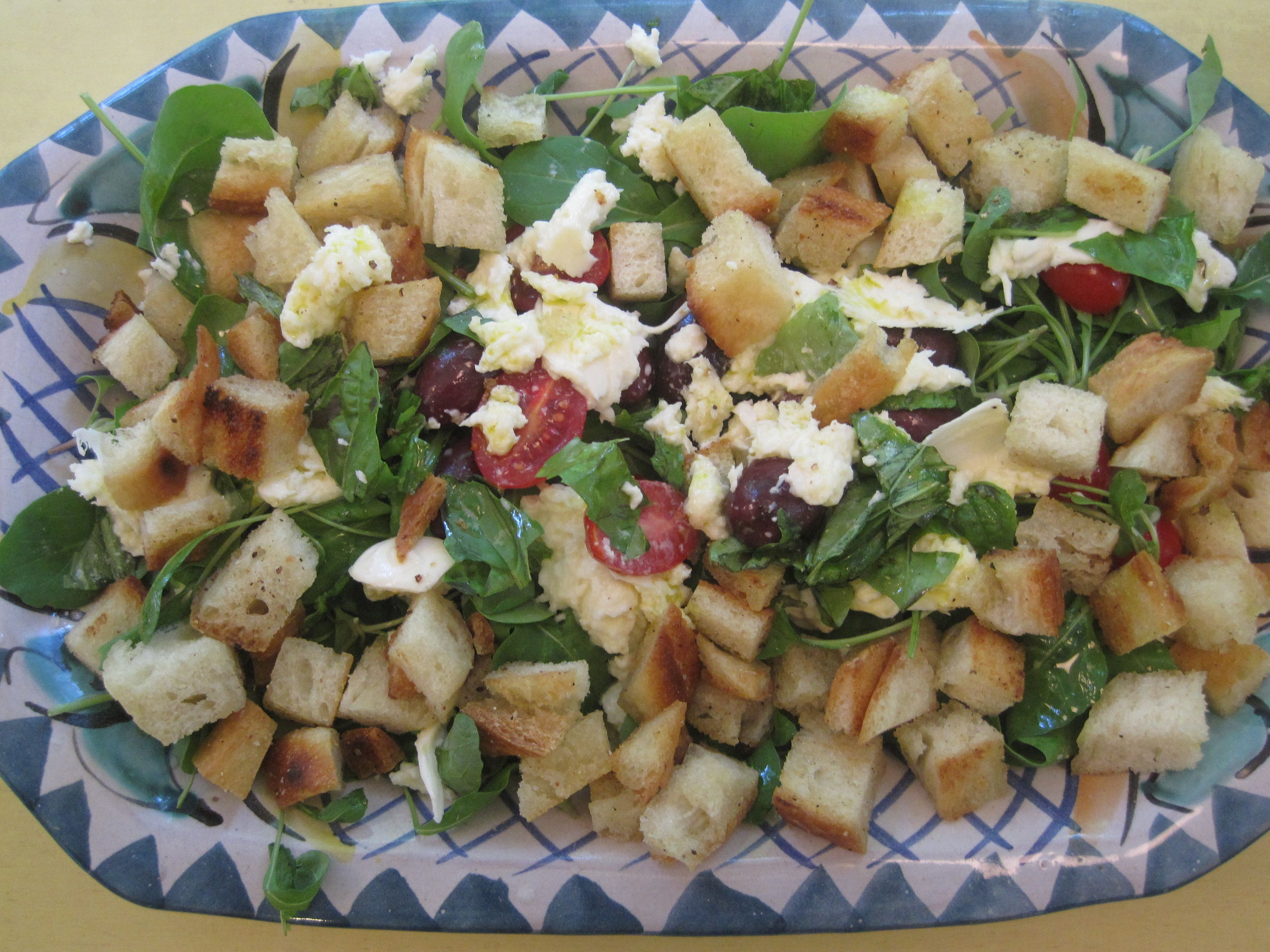 What's in the Refrigerator Panzanella