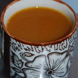 Carrot & Coconut Milk Soup