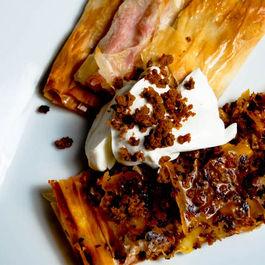Chorizo & Cheddar Phyllo Wraps