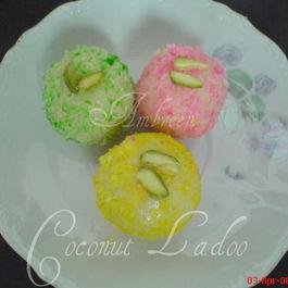 Coconut Laddo