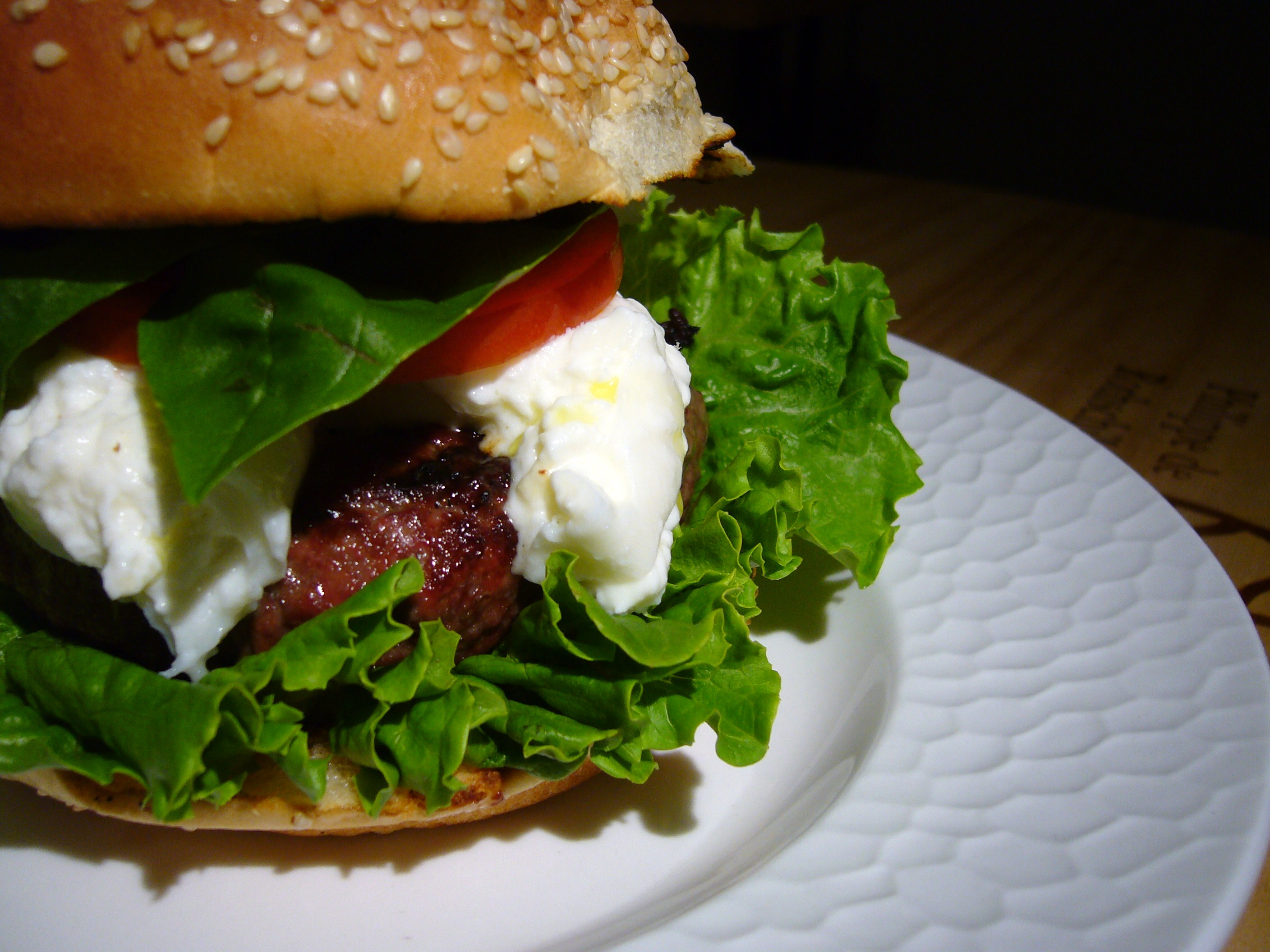 Burrata Burger