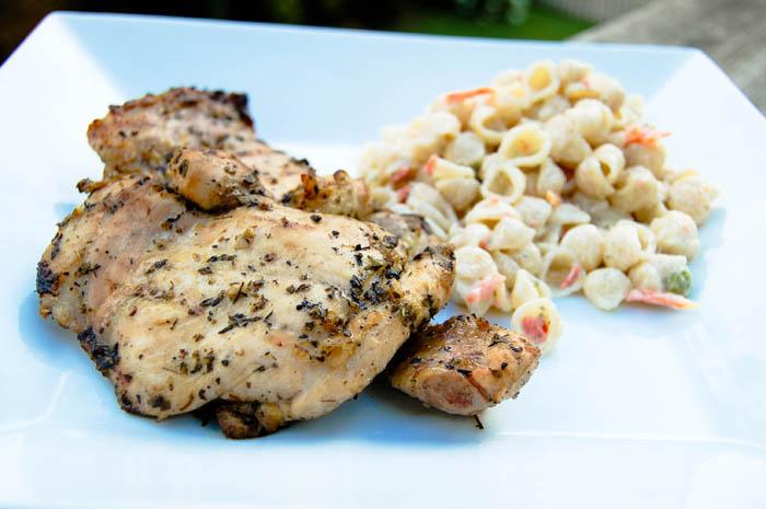 Garlic & Herb Marinated Chicken Thighs