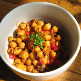Magical Pomegranate Molasses Chickpeas