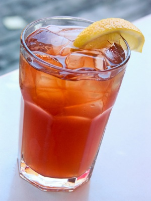 Basil Sweet Tea