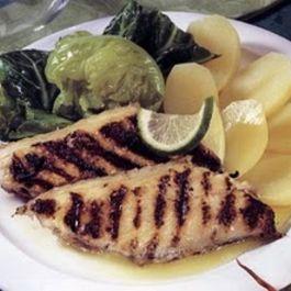 Peixe-espada-grelhado