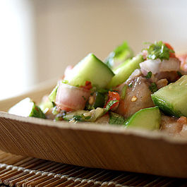 Swordfish Ceviche with an Asian Flair