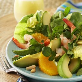 Avocado from Mexico, Orange and Watercress Salad. Adapted from Chef Richard Sandoval, New York, Mexico and Dubai