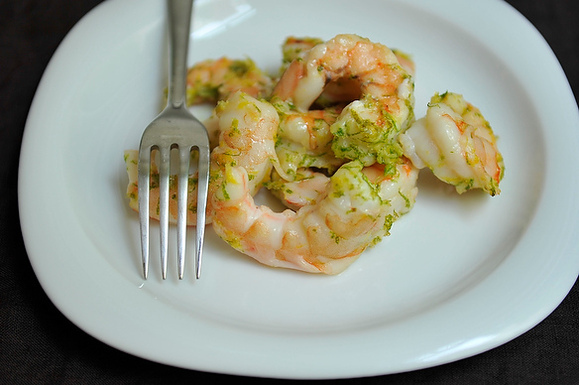Shrimp a la Bittman from Food52