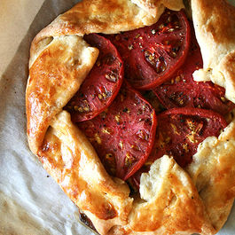 Tomato and Gruyere Cheese Galette