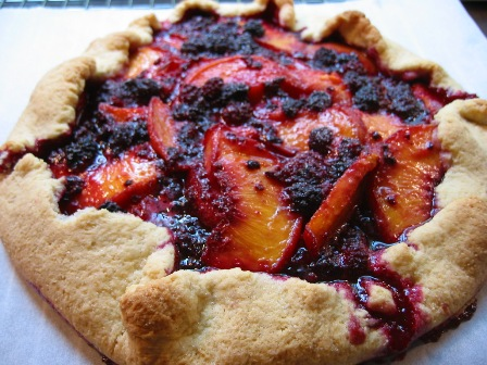 Mountain Blackberry & Peach Galette