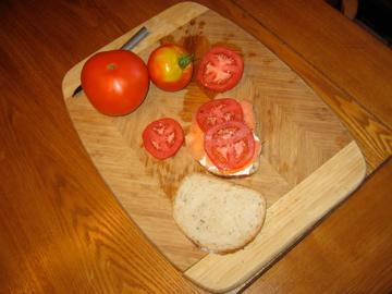 The Slammin' Salmon Sandwich