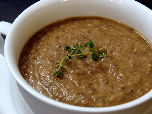 Velvety Mushroom Soup