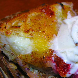 Rustic Yellow Sugar Plum Cake with Almonds and Brandy (gluten free)