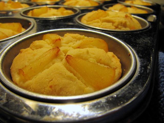 Plum Butter Almond Mochi Cake