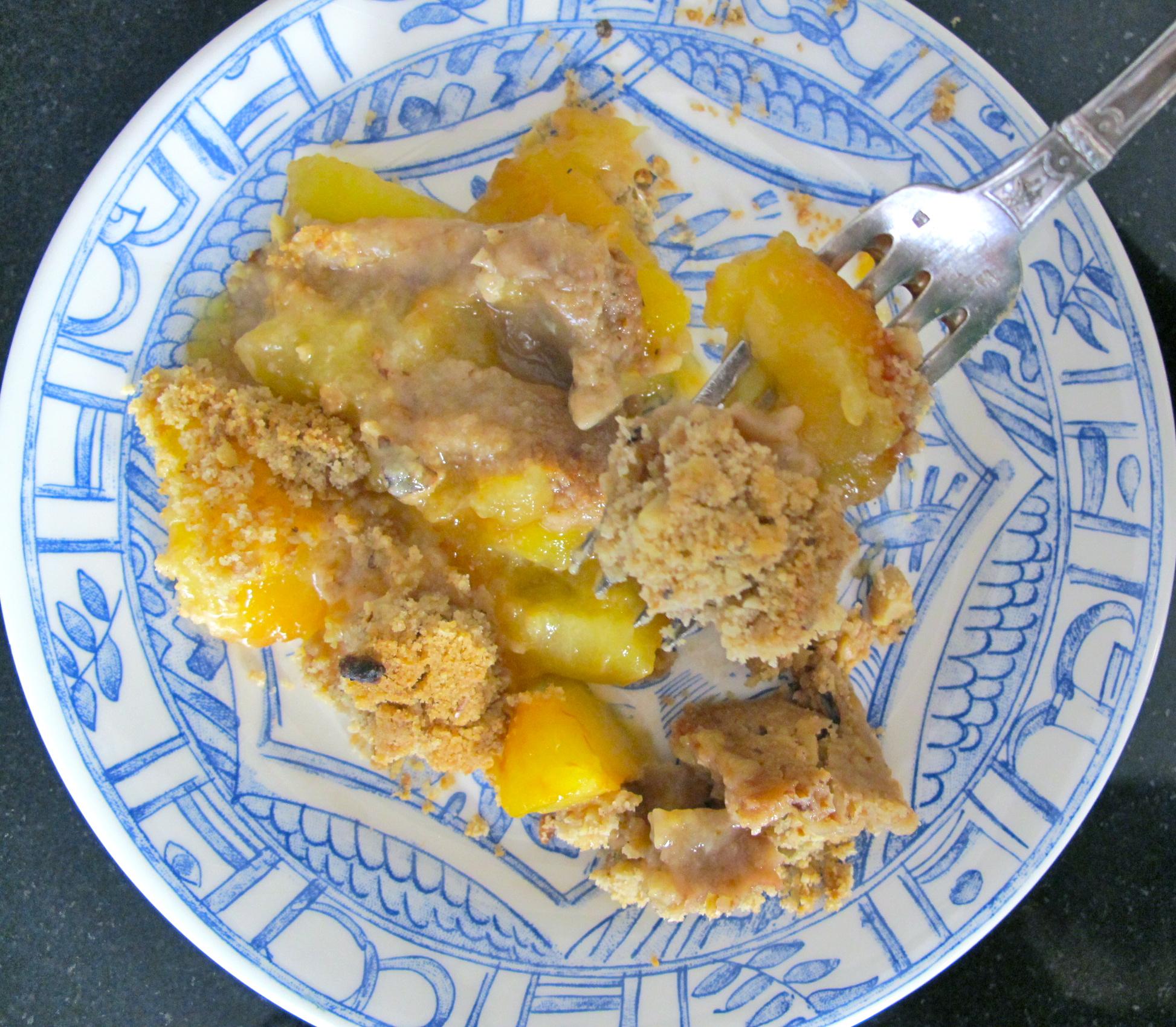 Plum Tart/Crisp
