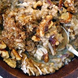 Steel Cut Oats Mash Up