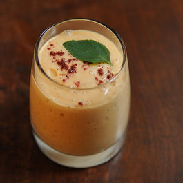 Heirloom Tomato and Mango Lassi with Ground Sumac